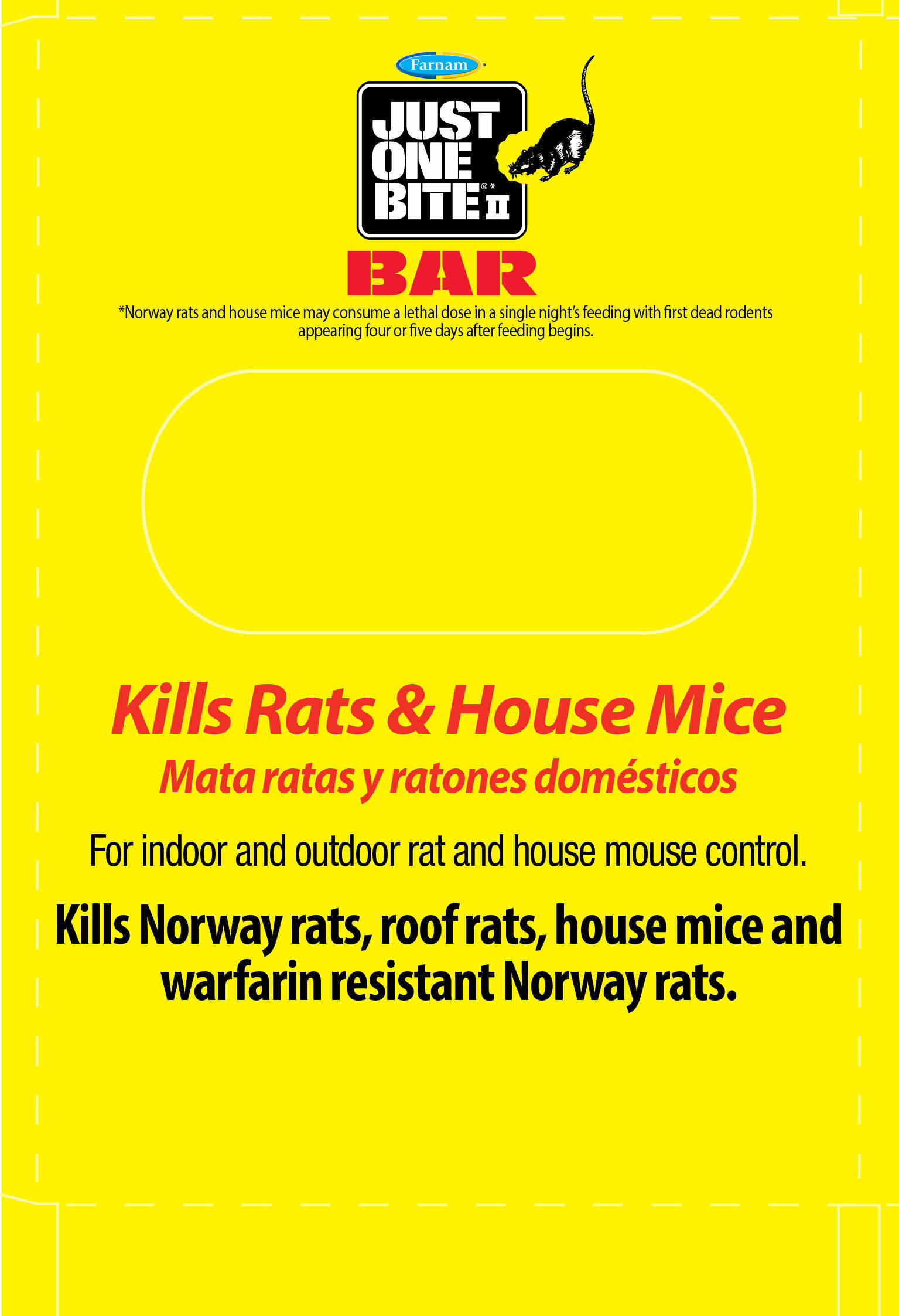 Just One Bite Ii Bar Rodent Bait Bar Just One Bite